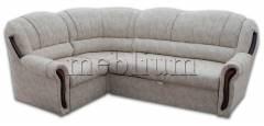 Угловой диван Лорд-90 Латте Вариант обивки: весь диван - Латте