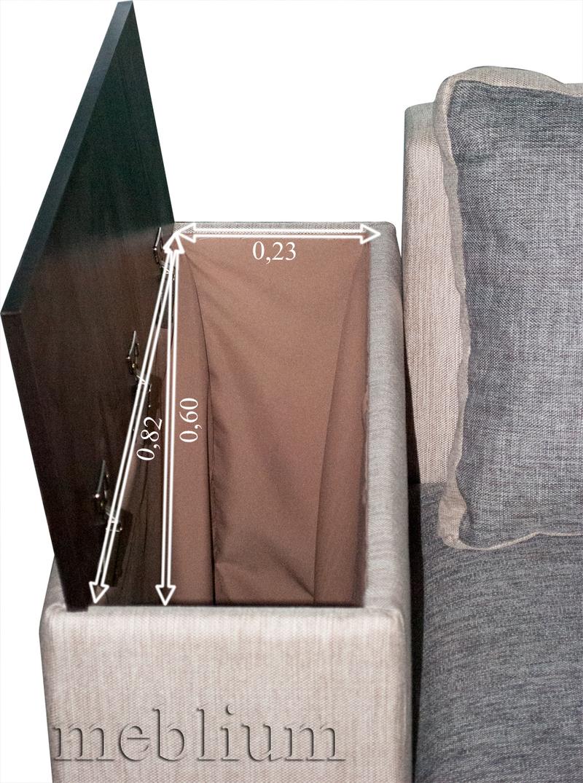 Кутовий диван Вашингтон New-10 Вбудована ніша