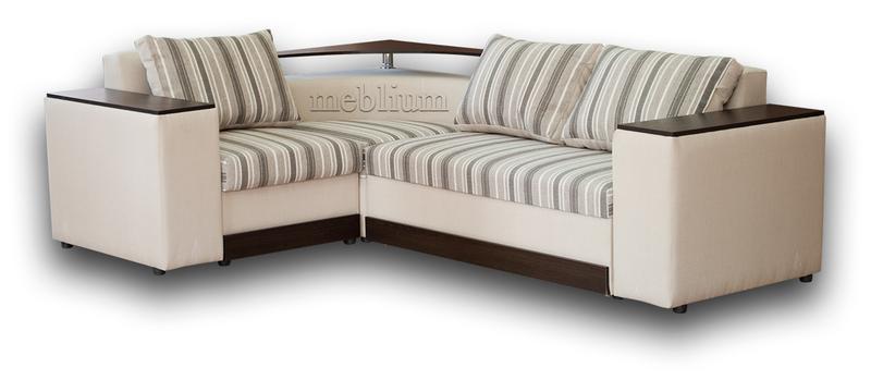 Кутовий диван Вашингтон New-10 Варіант 11: основа - флекс страйп 01, координат - флекс 02 (Аппарель).