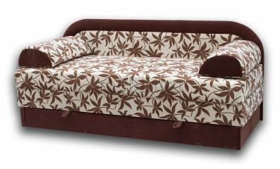 Вена Люкс-89 Вариант обивки: весь диван - Коричневые цветы