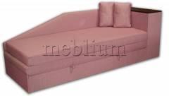 Софа Виктория-42 Комет розовый Вариант обивки: весь диван - Комет розовый