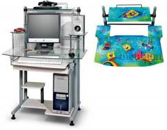 Комп'ютерний стіл С-2А Губка Боб-48 З-2А Губка Боб-48