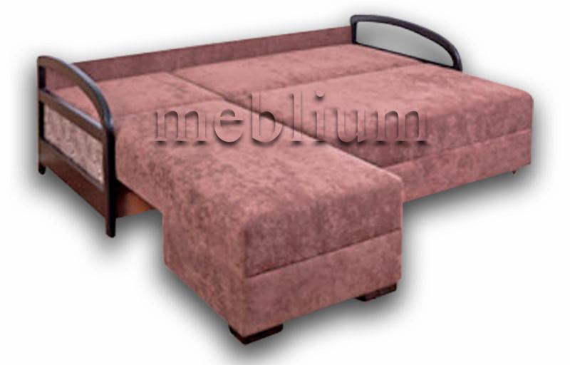 Угловой диван Аспект универсал -12 В разложеном виде