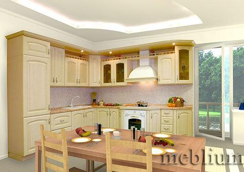 кухня meblium 32-72. МДФ крашенный - от 5500 грн. за 1 м.п.