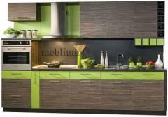 кухня meblium 33-72. Фасад шпон - от 18000 грн. за 1 м.п.