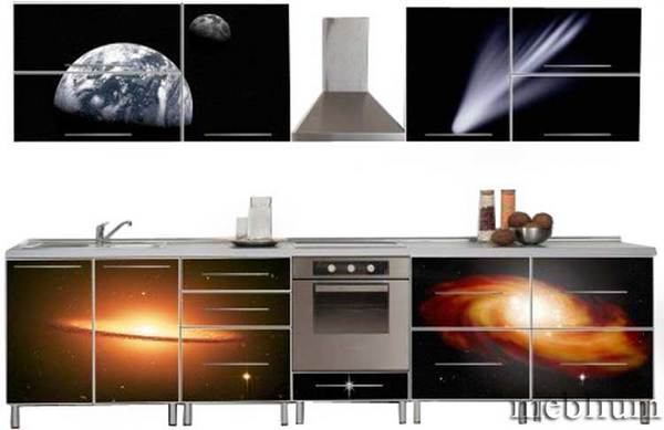Кухня meblium 84-72. Дсп swisspan, kronospan с фотопечатью - от 3560 гр. за 1м.п Кухня meblium 84-72. Дсп swisspan, kronospan с фотопечатью - от 3560 гр. за 1м.п