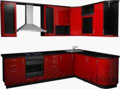 кухня meblium 15-72. Фасад пластик - від 5500 грн. за 1 м.п.