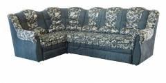 (СНЯТО С ПРОИЗВОДСТВА) Угловий диван Мадрид -71  Вариант обивки: Магик Серый