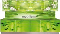 Кухня meblium 23-72. Дсп swisspan, kronospan з фотодруком - від 3560 гр. за 1м.п