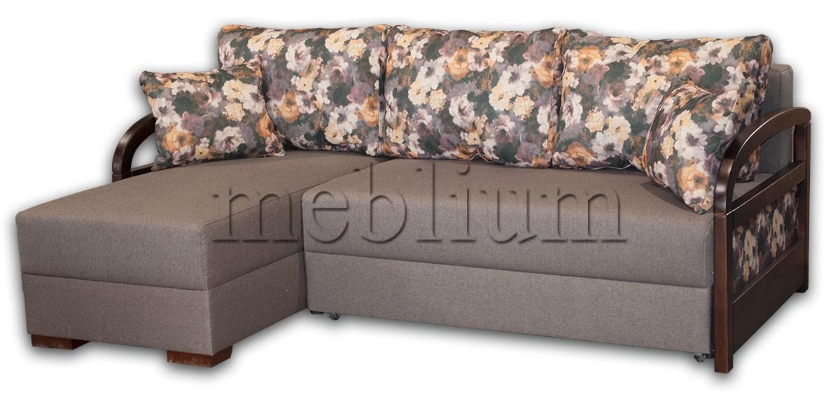Угловой диван Аспект универсал -12 ТАКЖЕ ЭТУ МОДЕЛЬ ЗАКАЗИВАЛИ В ТКАНИ:  весь диван - Эпика сталь 191, подушки - принт 03