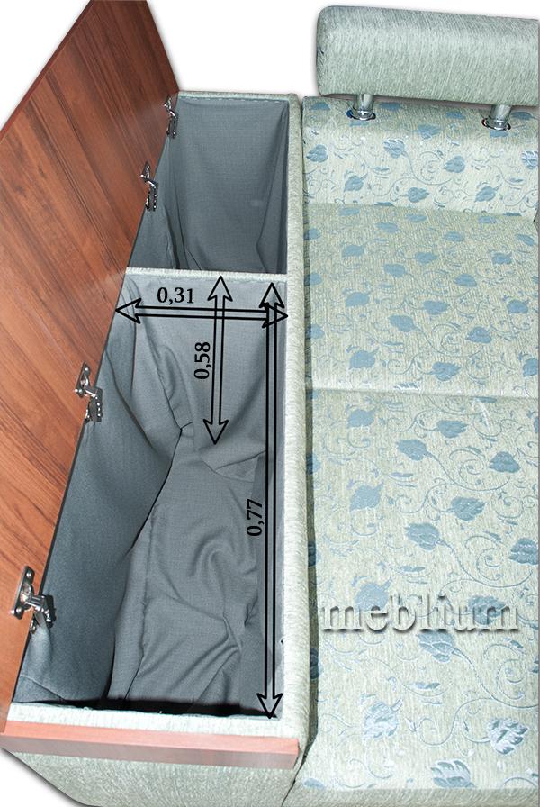 Кутовий диван Чікаго New-10 Вбудована ніша