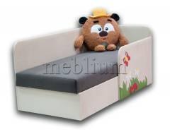 Детский диван Смешарик Копатыч-41 ТАКЖЕ ЭТУ МОДЕЛЬ ЗАКАЗЫВАЛИ В ТКАНИ :   Основа - Нитекс найс биттер, Координат - Нитекс найс карамель