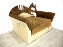Детский диван Коте 2 быльца -28 Ткань: Ibica_kor_beg