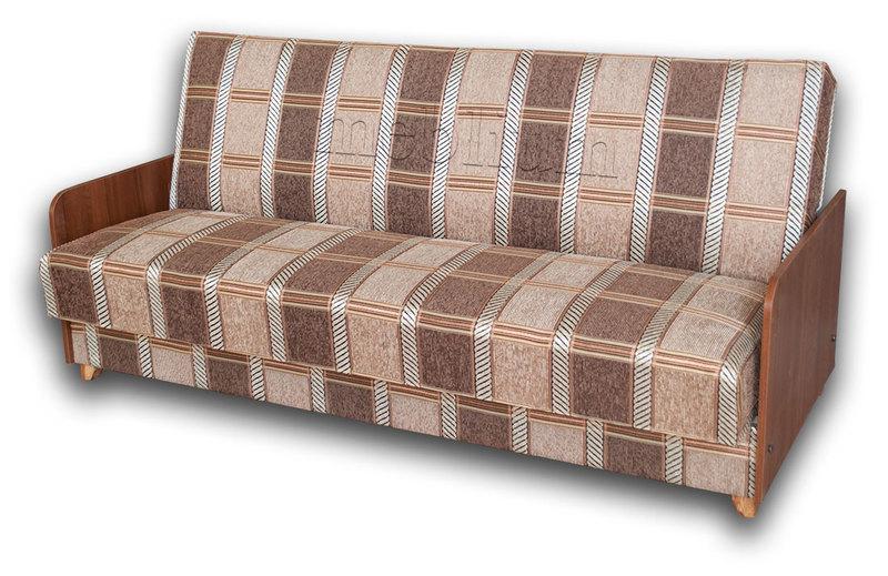Диван Гудзон -12 ТАКЖЕ ЭТУ МОДЕЛЬ ЗАКАЗЫВАЛИ В ТКАНИ : весь диван - Коса коричневая