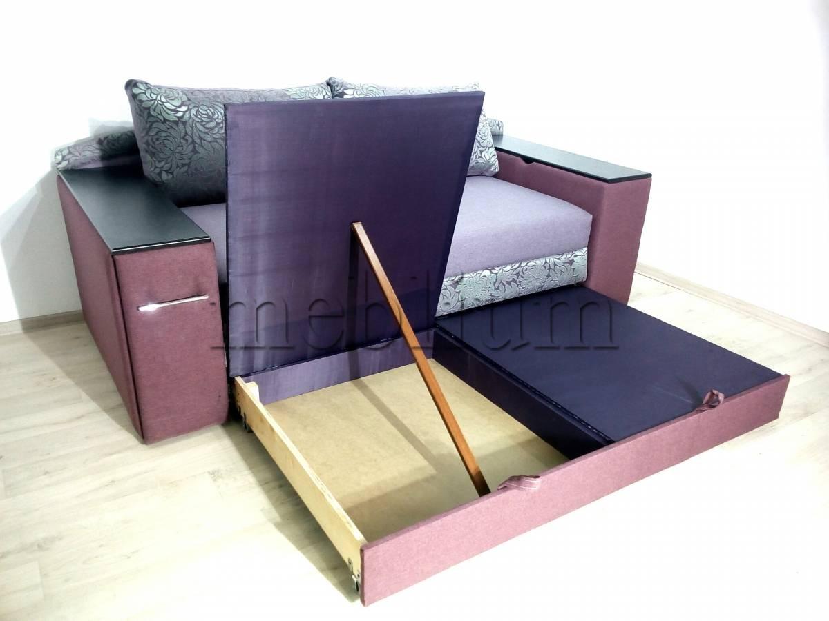 ПРОДАНО (МОЖНО ПОД ЗАКАЗ) Софа Милена (+ниша+столик) -90 Parizh Ниша для белья левая