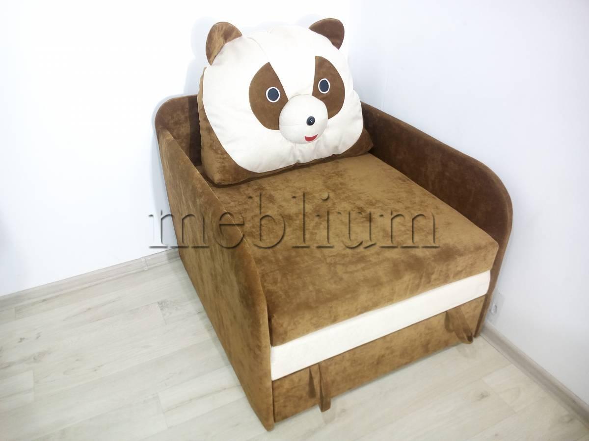 Детский диван Панда -3 Ткань: Ibica_Kor