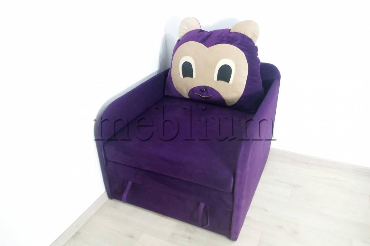 Диван детский Ведмедык -3 Violet Ткань: Violet