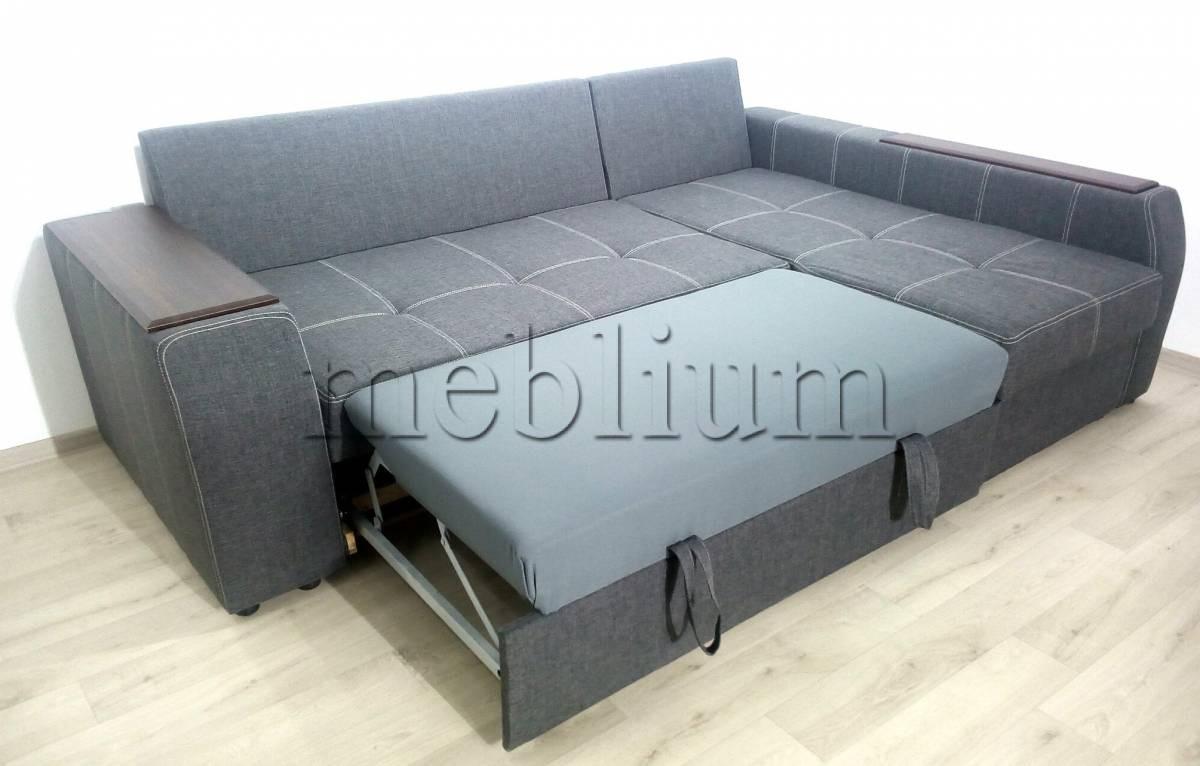 Угловой диван Лорд с открытым боком -3 Lux12_Kor Спальное место