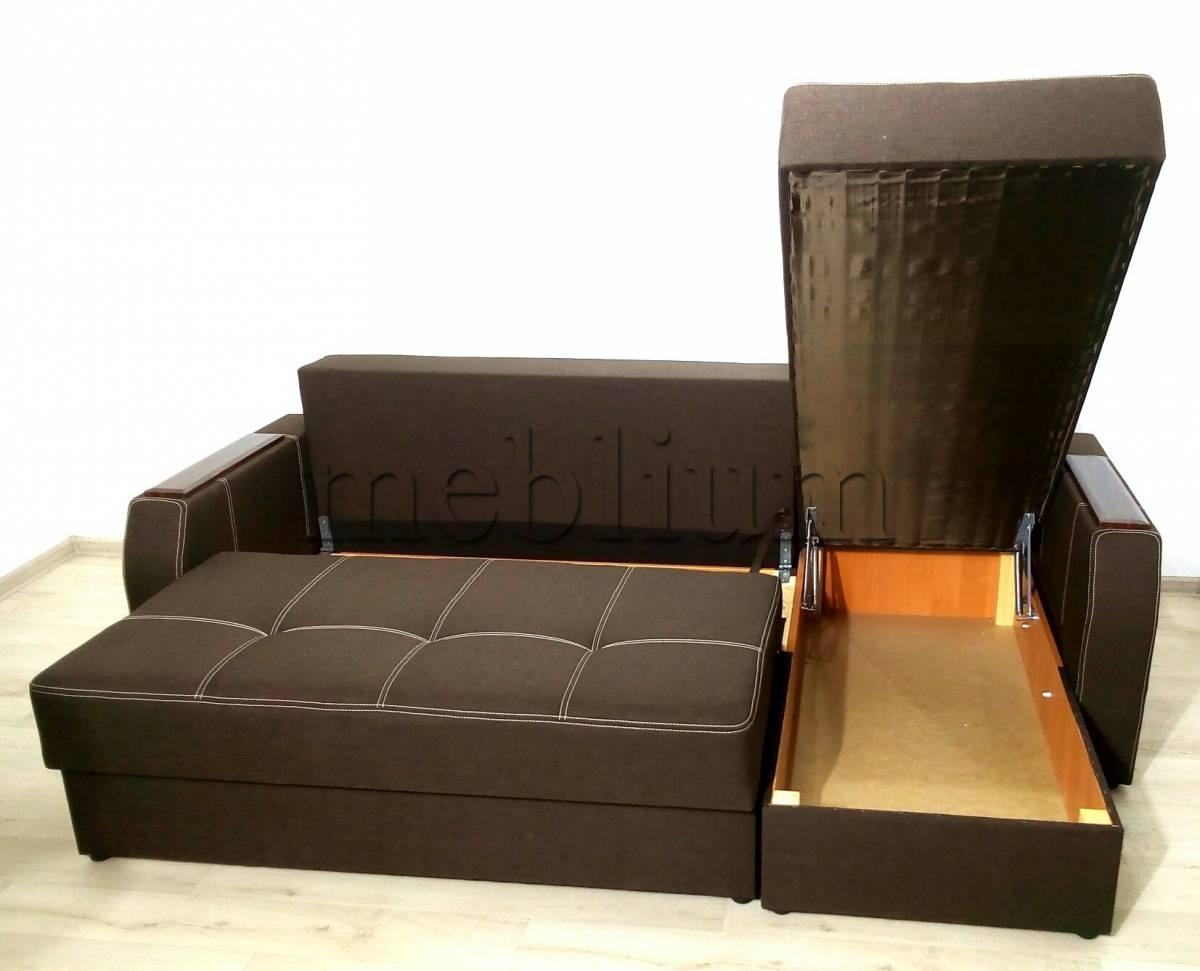 Угловой диван Браво универсал -3 Ниша для белья