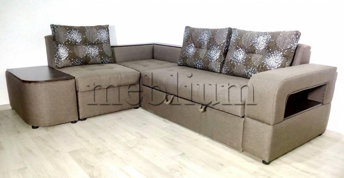 Угловой диван Голливуд -76 Ткань: Bahamma_Pion