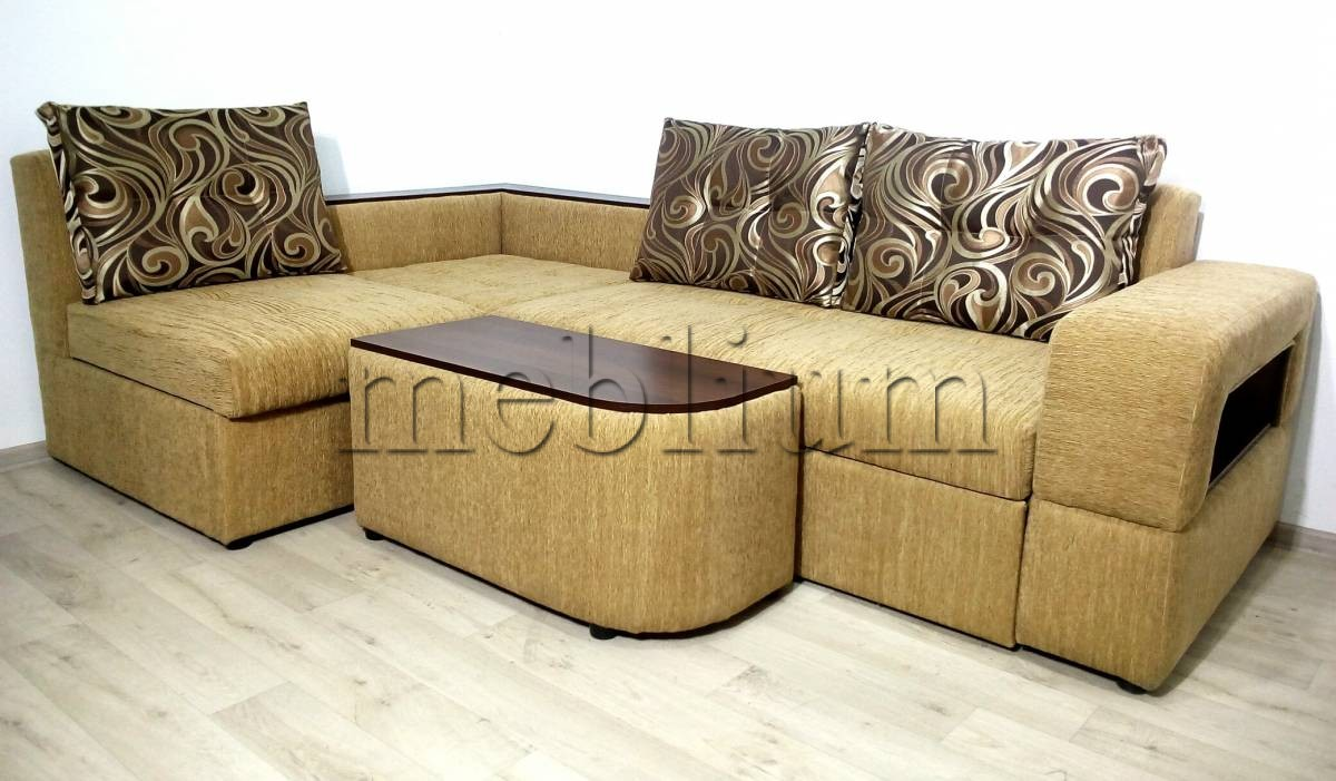 Угловой диван Голливуд -76 Ткань: Dolero