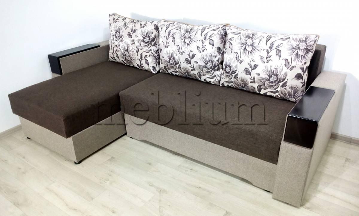 Угловой диван Магнолия универсал -3 Svetlokor Ткань: Svetlokor