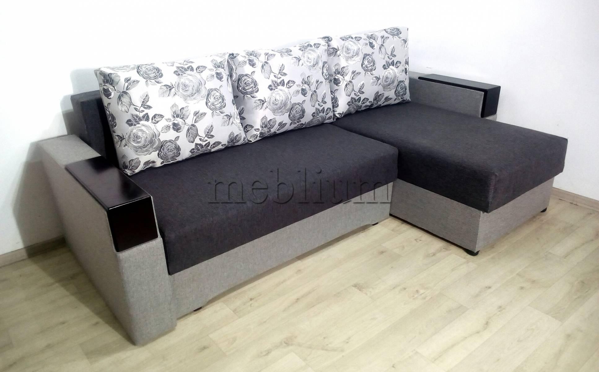 Угловой диван Магнолия универсал -3 Siryj Ткань: Siryj 3