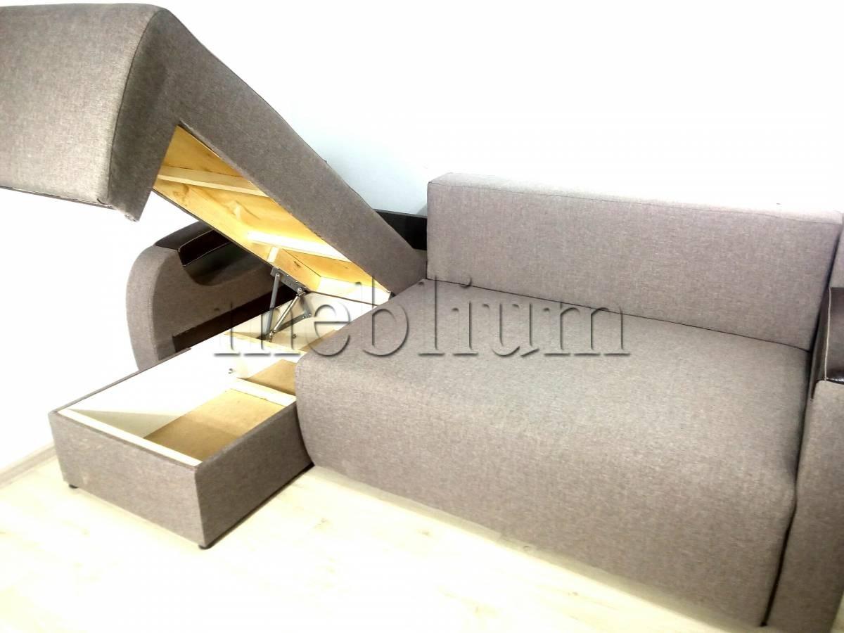Угловой диван Релакс универсал -3 Ниша для белья 1