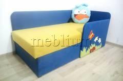 Дитячий диван Смішарик Angry Birds -41 Тканина: Angry Birds