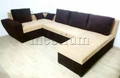 Угловой диван П-образный Цезарь -42 Santa_Lam Ткань: Santa_Lam