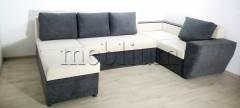 Угловой диван П-образный Цезарь -42 Filipo Ткань: Filipo