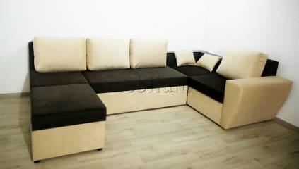 Угловой диван П-образный Цезарь -42 Schahi Ткань: Schahi