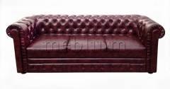 Диван Честер-6 ТАКЖЕ ЭТУ МОДЕЛЬ ЗАКАЗИВАЛИ В ТКАНИ: Весь диван оббит - Витэкс (кож.зам ) Филли 030