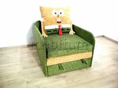 Дитячий диван Губка Боб -3 Тканина: Tomas_Zelenyj