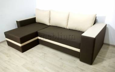Угловой диван Рондо -90 Ткань: Korychnevyj