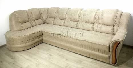 Угловой диван Барон 1А вариант Б-6 Питон 2222 Вариант обивки: весь диван - Питон 2222