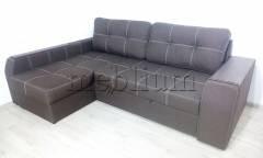 Угловой диван Лорд с открытым боком -3 Lux12_Kor Ткань: Lux12_Kor