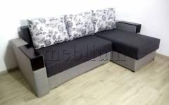 Угловой диван Магнолия универсал -3 Siryj 3 Ткань: Siryj 3