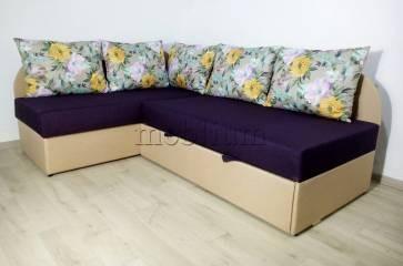 Угловой диван Нежность -28 Ткань: