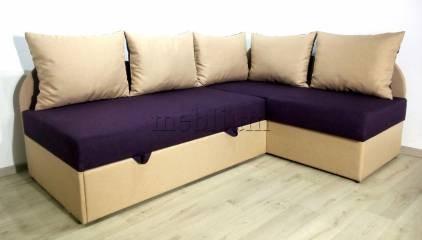 Кутовий диван Ніжність-28 Тканина: Siren_Behz