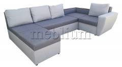 Кутовий диван Цезар-42 Santa_Lam Seryj_svetloseryj