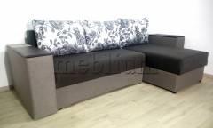 Угловой диван Визит универсал -3 Seryj 3 Ткань: Seryj 3