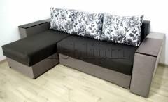 Угловой диван Византия универсал -3 Ткань: Siryj 1