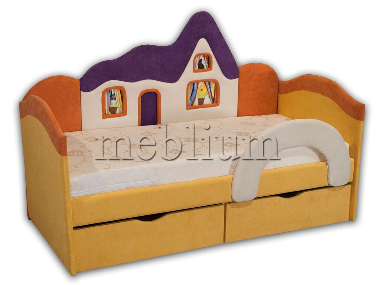 Детский диван Домік -41 ТАКОЖ ЦЮ МОДЕЛЬ ЗАМОВЛЯЛИ В ТКАНИНI:  Ідея 7053