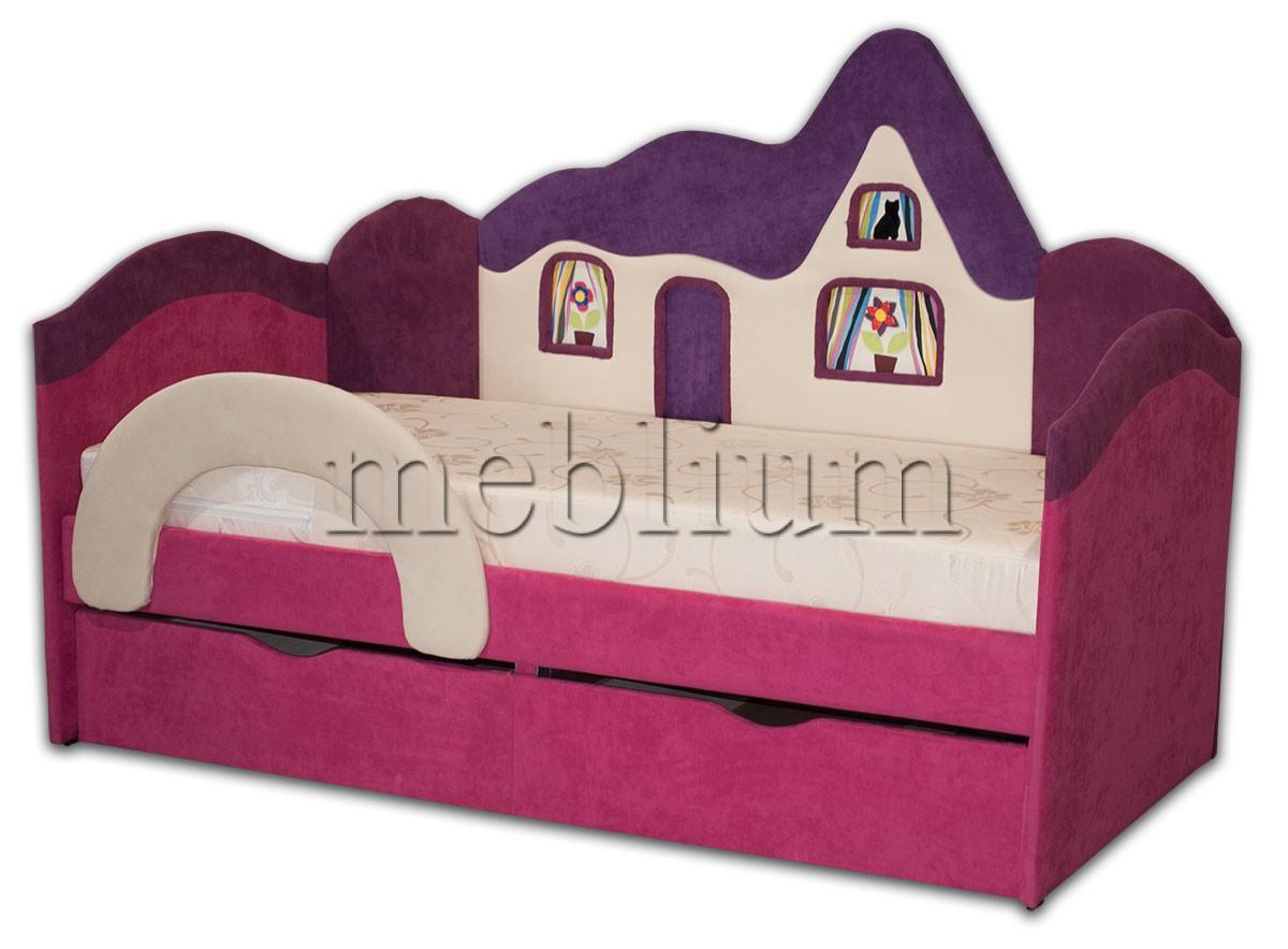 Детский диван Домік -41 ТАКОЖ ЦЮ МОДЕЛЬ ЗАМОВЛЯЛИ В ТКАНИНI: Идея 7048