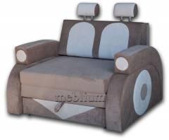 Детский диван Фаэтон-41 ТАКЖЕ ЭТУ МОДЕЛЬ ЗАКАЗЫВАЛИ В ТКАНИ :