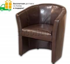 Крісло Фотель-66 Варіант обивки: Кожзам коричневий