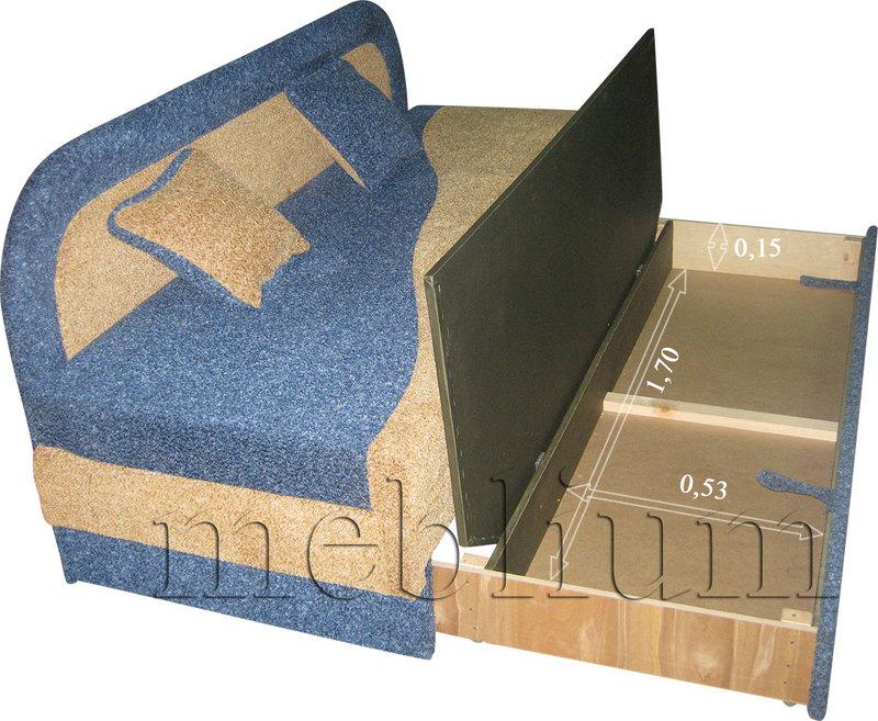 Meblium 15-3 ромас Размеры ниши для белья:
