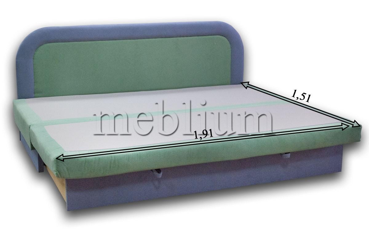 Диван Хвиля-89 110 В розкладеному вигляді