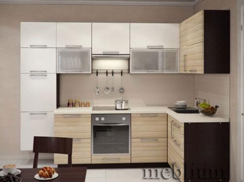 кухня meblium 4-72. Фасад пластик - от 5500 грн. за 1 м.п. Смотрите, в каком исполнении заказывают у нас кухню meblium 4-72: